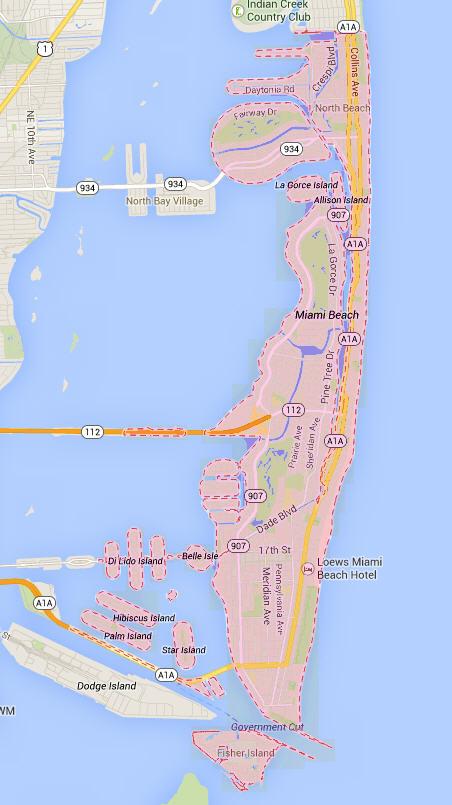the city of miami beach   miami gated communities
